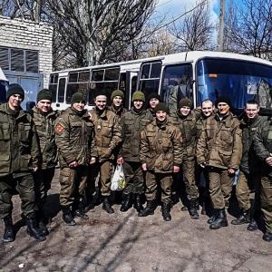 В зоні проведення АТО гвардійці Південного ОТО здали кров для поранених бійців Збройних сил України