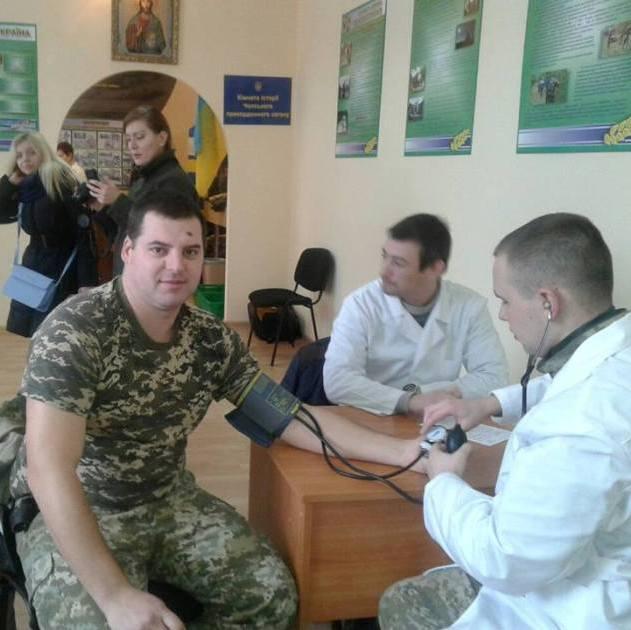Закарпатські прикордонники стали донорами крові для онкохворих дітей (Ужгород)