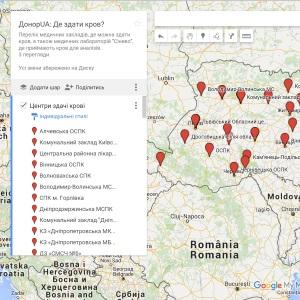 Імпорт даних в KML формат та створення Google Maps карти за 5 хвилин