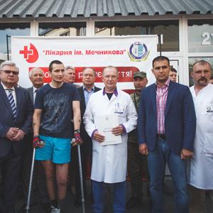 Відбувся черговий день донора у лікарні Мечникова, м.Дніпро