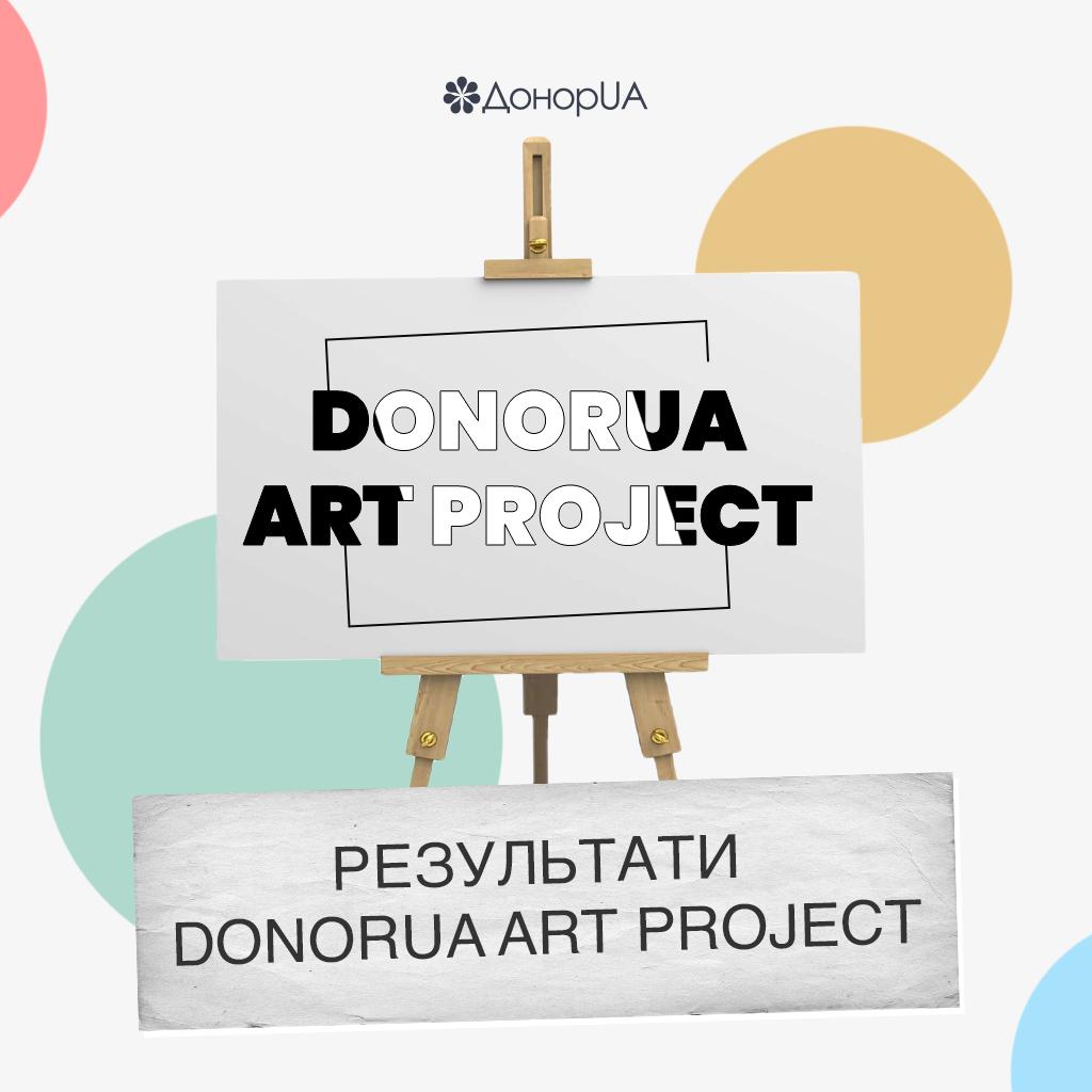 Результати конкурсу DonorUA Art Project