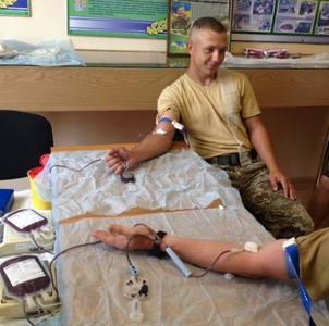 Чопські прикордонники на варті запасів крові