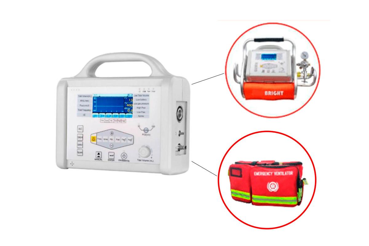 Портативний апарат штучної вентиляції легень (ШВЛ)